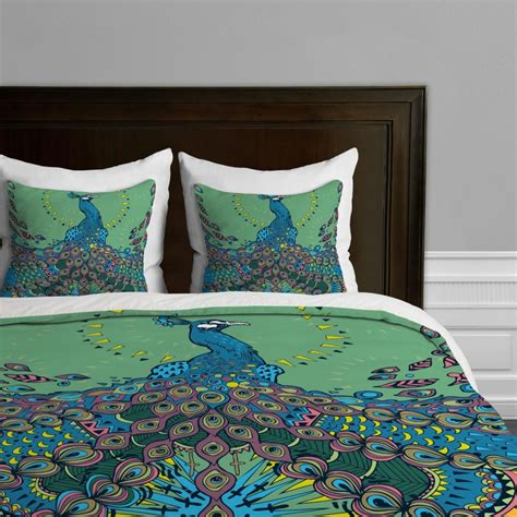 awesome peacock bedding sets for a cool bedroom