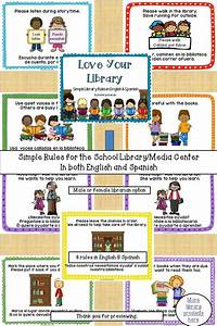 'Love Your Library … Simple Library Rules in English and ...