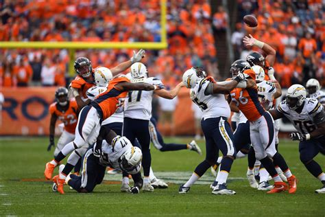 Chargers-broncos Final Score