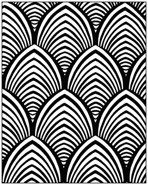 geometric patterns deco 4 quot deco quot coloring pages for adults justcolor