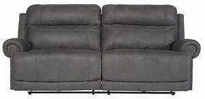 Sofas Couches : austere gray reclining sofa from ashley 3840181 coleman furniture ~ Markanthonyermac.com Haus und Dekorationen