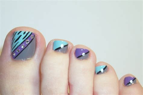 Nail Design : Latest Trends For Foot Nail Art Designs For Girls 2016