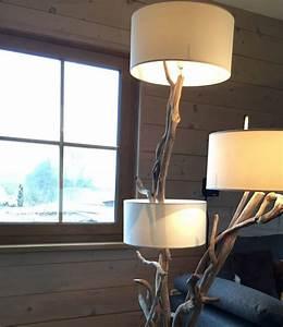 Stehlampe Aus Treibholz : treibholz lampen 22 elegante designer ideen beleuchtung deko feiern zenideen ~ Markanthonyermac.com Haus und Dekorationen
