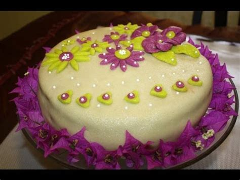 recette de gateau d anniversaire 224 la pate d amande my birthday cake with marzipan sousoukitchen