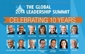 Global Leadership Summit 2014: Weekly Update — June 4