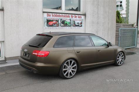 Audi-folierung-braun-matt