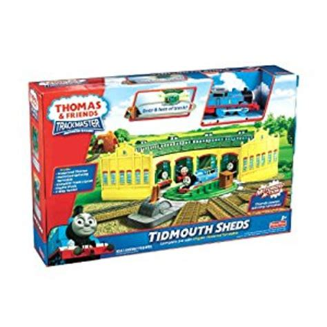 and friends trackmaster tidmouth sheds playset ebay
