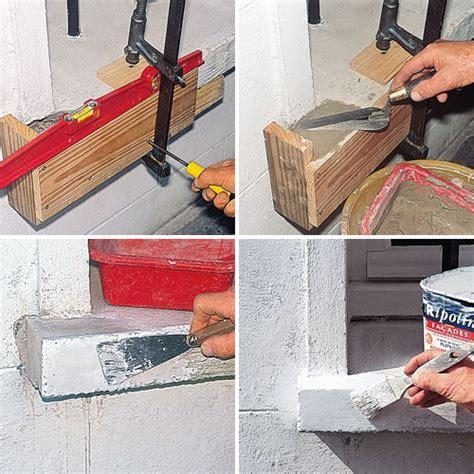 comment faire un appui de fenetre de conception de maison