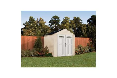 rubbermaid 7x7 roughneck x large 325 cubic outdoor storage shed 5h80 vminnovations