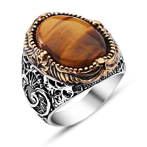 Tiger's Eye Classic Silver Ring  Boutique Ottoman Jewelry. Chalcedony Rings. Polished Wood Wedding Rings. Trendy Engagement Rings. Grad Rings. Copper Promise Wedding Rings. Indie Rings. Valentine's Day Rings. Curved Wedding Band Wedding Rings