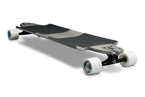 furabu drop through deck longboard deck only grey restless longboards