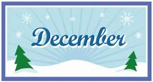 December calendar - Clip Art Library