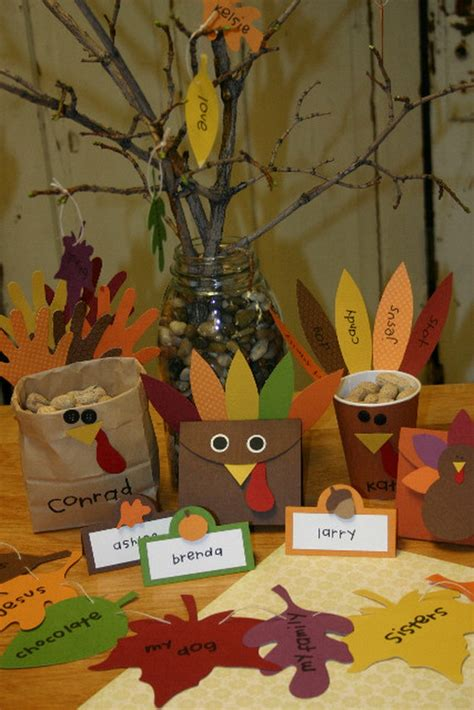 Thanksgiving Holiday Crafts  Family Holidaynetguide To