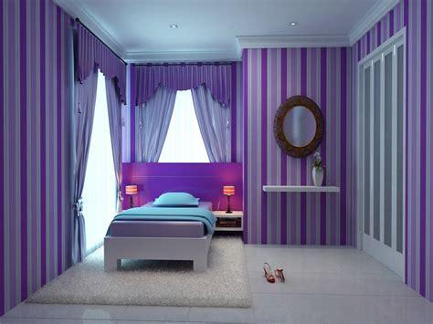 Pink And Purple Girls Bedroom, Teen Girl Bedrooms Purple