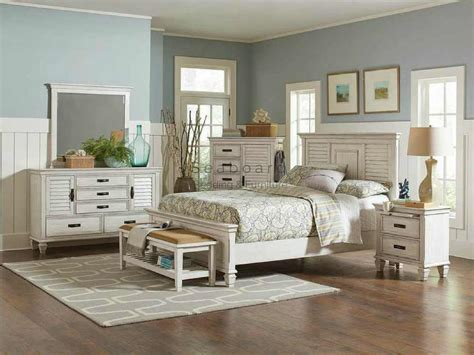 Coaster 205331 Antique White King Bedroom Set In Myrtle Beach