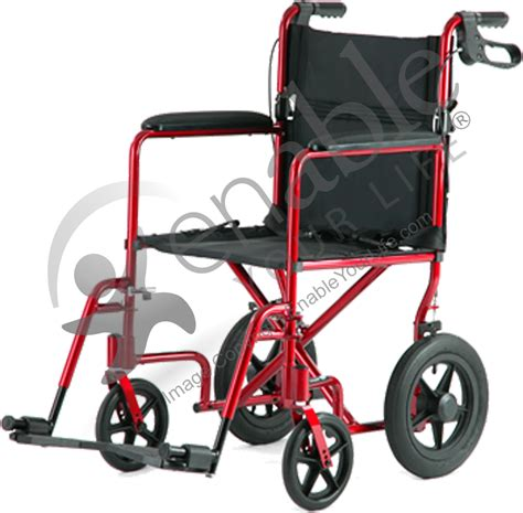 invacare 174 deluxe lightweight aluminum transport wheelchair