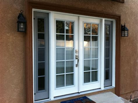 Door - Window : The Best Design Of Double French Doors Exterior For Houses