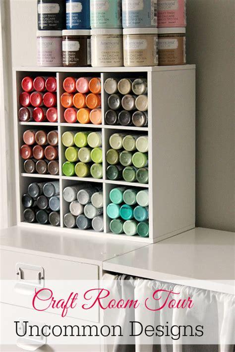 Decoart Blog  Craft Paint Storage Ideas