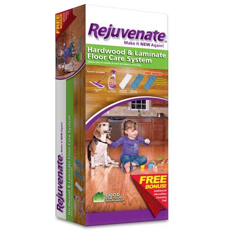 rejuvenate hardwood laminate floor care system