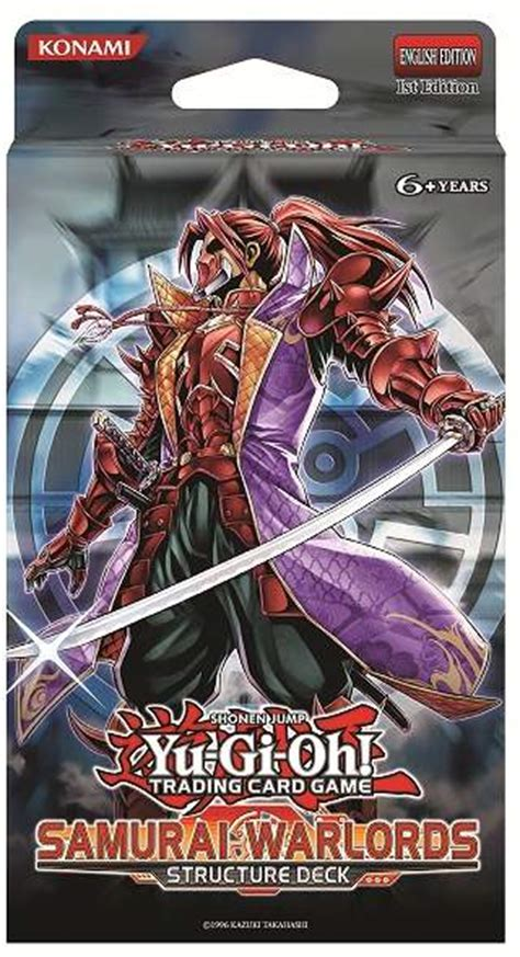 samurai warlords structure deck yu gi oh fandom