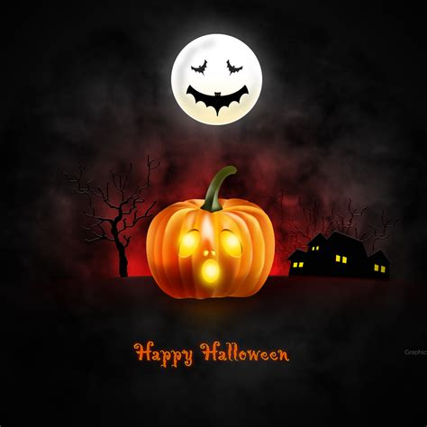 Halloween Wallpaper For Desktop, Ipad & Iphone (psd