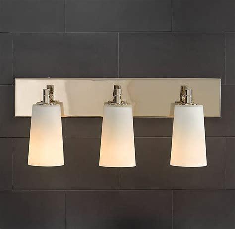 restoration hardware spritz sconce bathroom vanity light light fixtures