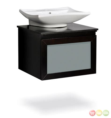 vanity fulton 24 with vessel sink walnut white sink gray wallpaperdekstoppcs