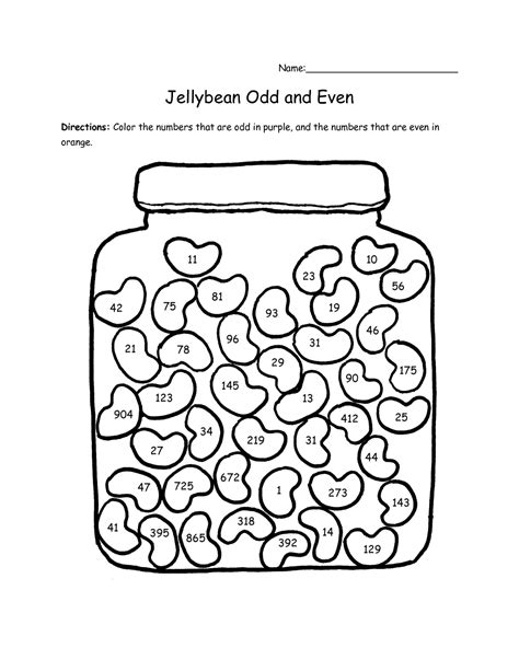 Odd And Even Worksheet Fun  Kiddo Shelter