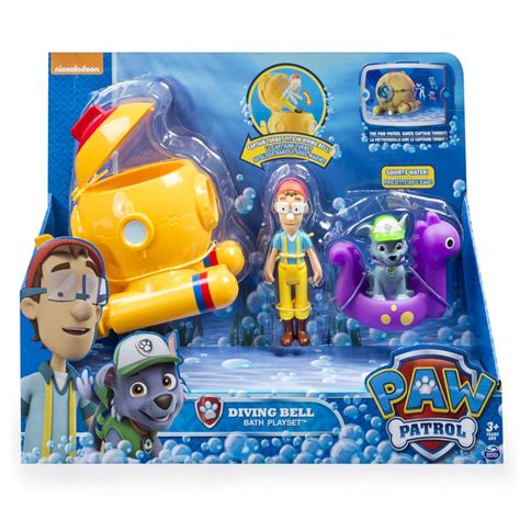 Captain Turbot Boat Toy paw patrol captain turbot bath playset paw patrol