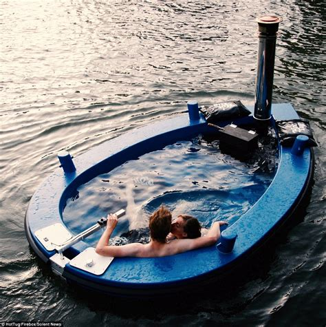 Purchase Boats Online by Set Sail On Revolutionary Hot Tug Hot Tub Boat That
