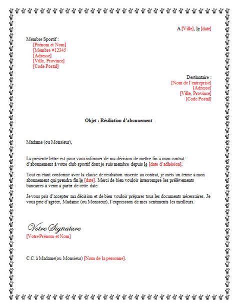 lettre de d 233 mission pour un club sportif lettreded 233 mission org