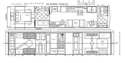 skoolie floor plan conversion ideas