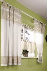 Panneaux Gardinen Landhaus : 1 st panneaux bistro gardine 15 x 120 natur spitze leinen optik landhaus neu ebay ~ Markanthonyermac.com Haus und Dekorationen