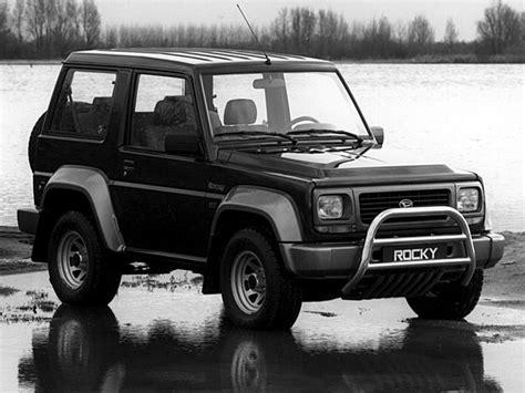 Daihatsu Rocky Hardtop Se Turbo Diesel 1994