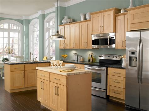 Kitchen Paint Colors With Maple Cabinets-home Furniture