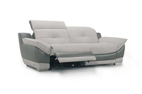 canap 233 relaxation 233 lectrique 3 places en cuir duncan design sur sofactory