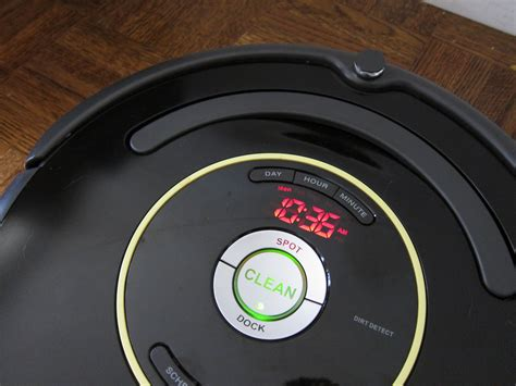 review roomba 650 vacuum cleaning robot