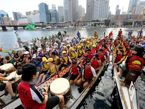 Dragon Boat Festival Sydney by Dragon Boat Races What S On City Of Sydney