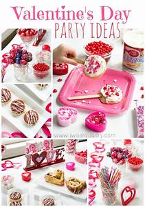 Valentine's Day Party Ideas - I Wash... You Dry
