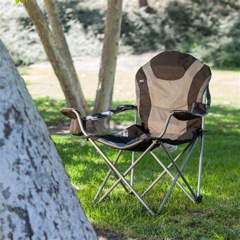 picnic time portable reclining c chair black gray patio lawn garden