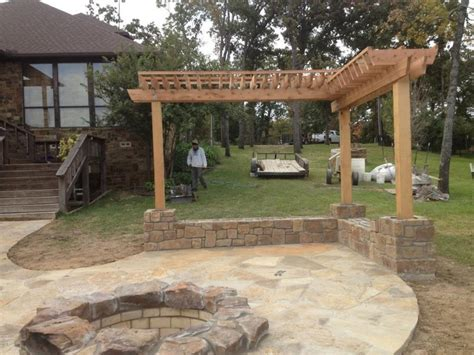 garden patio designs home design with wooden rooftop and center fireplace grezu home