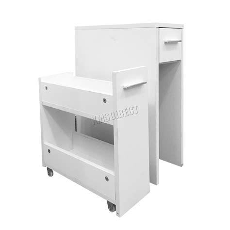 foxhunter bathroom kitchen slide out storage drawer cabinet slim cupboard unit