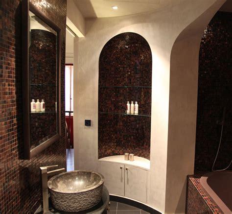 une salle de bains orientale inspiration bain