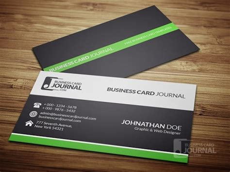 20 Latest Free Business Card Psd Templates