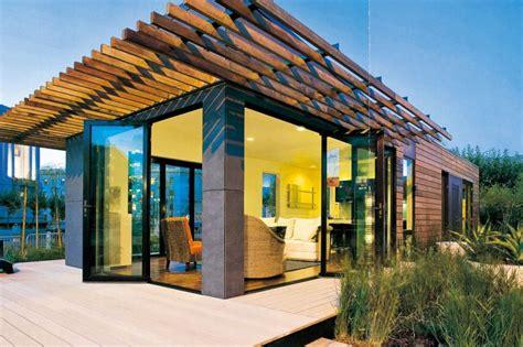 Holz Fertighaus 21 Umweltschonende Ideen Architektur