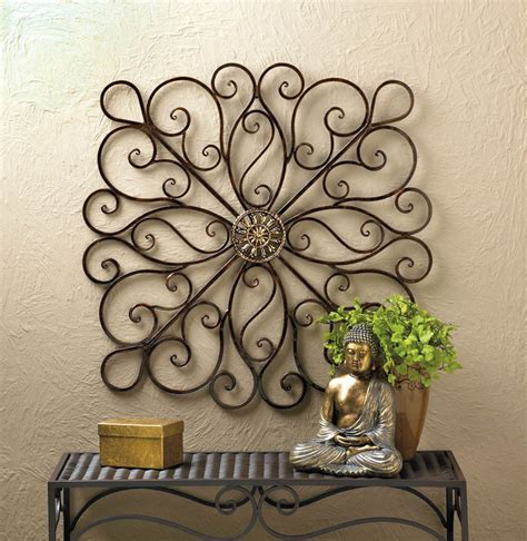 wrought iron scrollwork wall decor 36 new 10016153