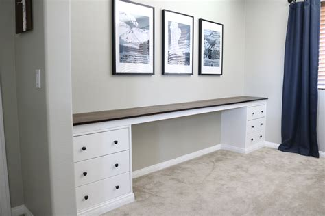 Wall-to-wall Built-in Desk Closets With Drawers Built In Tall Plastic Drawer Trolley White Chest Of Gumtree Belfast Monterey 2 Nightstand Open Shelf At B M How To Build A Small Stack On Pds 500 Electronic Locking Safe Reviews Undermount Slide Instructions