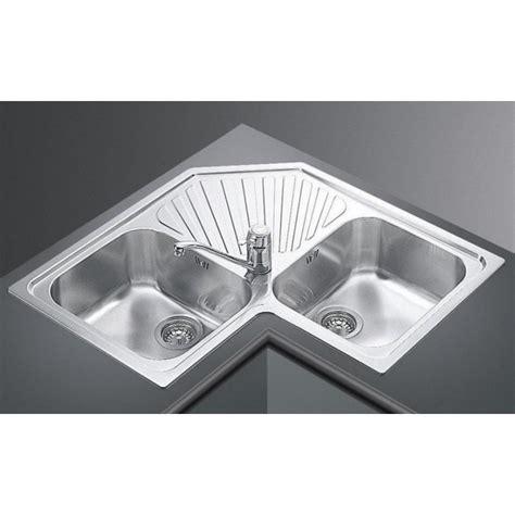 kitchen corner sinks stainless steel ticor s999 corner