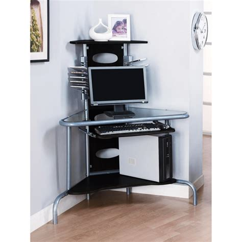 Black Corner Computer Desk by Innovex Home Products Ab001m29 Innovex Wall Mount