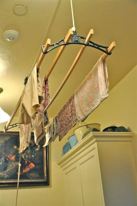 Laundry Room Hanging Rack  Homes Decoration Tips